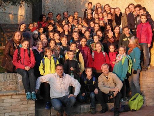 KInderwallfahrt Assisi