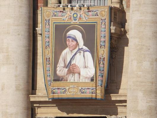 Heilige Mutter Teresa von Kalkutta
